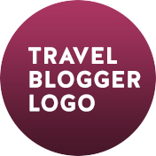 travel blogger logo